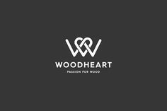 Woodheart - Passion For Wood #logo by Kevin Kurtovich