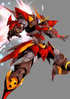 Millennium Exile OC: Pantheon Armour Phoenix Character Design: Me Artist: Edits made?: A few edits made to colours and special eff. Robot Concept Art, Armor Concept, Robot Art, Arte Gundam, Gundam Art, Gurren Laggan, Robots Drawing, Mecha Suit, Fantasy Castle