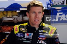 News Photo: Carl Edwards driver of the Subway Ford looks…