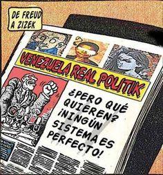 Periodismo cómic Venezuela