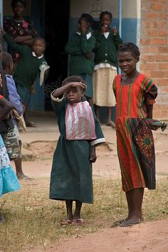 Children of Zambia I support a little girl here through Children International.