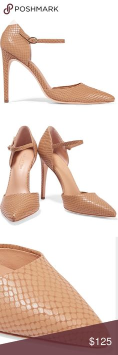 🎉🎉SOLD🎉🎉🎉 NWT Halston Heritage Nude pumps Halston Heritage Shoes Sandals