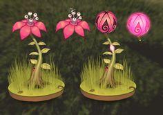 ArtStation - Carnivorous plant concept, Agith P (VISJON)