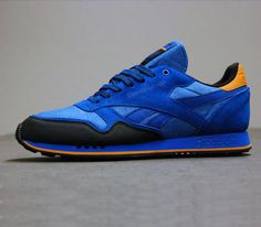 Reebok Classic Leather Trail-Blue Sport-Black-Nac