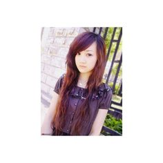 Emo Fashion | Emo Fashion Tips: Asian emo girl ❤ liked on Polyvore featuring people, girls and hair