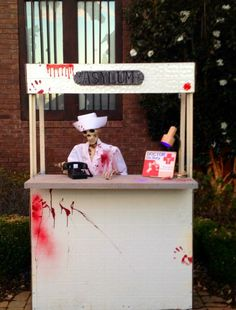 Image result for halloween reception area
