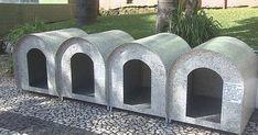 Projeto instala casinhas nas ruas para animais abandonados em Lages, SC