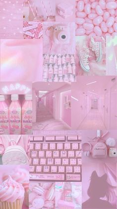 Wallpaper Pastel, Bad Girl Wallpaper, Mood Wallpaper, Pink Wallpaper Iphone, Aesthetic Pastel Wallpaper, Iphone Background Wallpaper, Aesthetic Wallpapers, Bedroom Wall Collage, Photo Wall Collage