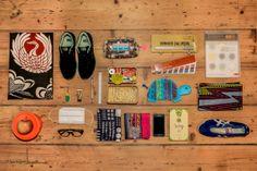 Essentials: Keiko Takayama of Onitsuka Tiger Gadgets, Takayama, All Black Outfit, Black Outfits, Flat Lay Photography, Onitsuka Tiger, Clothes Horse, Hypebeast, Travel Style