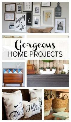 12 Gorgeous Home Projects by SAburns