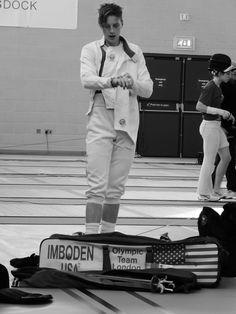 Race Imboden - LifeKraze - #Olympics #Fencing #USA #livelikeitcounts #InspireLK