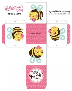 Kawaii Valentine Cards