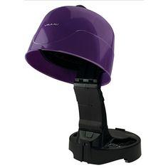 Salon Ionic Hair Dryer w/Large Round Hood