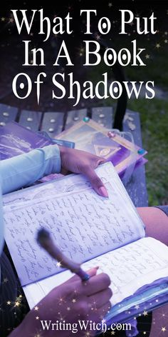 What To Put In A Book Of Shadows