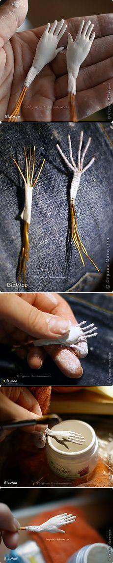 """Modelado - Manos de paperkleya """"búsqueda master clases, artesanías y manualidades con sus manos en SearchMasterclass.Net"""