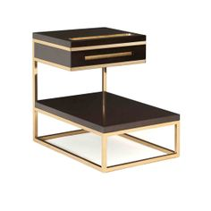 Buy ALTA CAIXA SIDE TABLE. BY AZADEH SHLADOVSKY - Side Tables - Tables - Furniture - Dering Hall