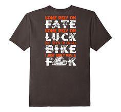 Amazon.com: Motocross on bike don't give FK T-Shirt Design: Clothing