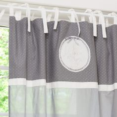 Rideau voilage shabby on pinterest lace curtains curtains and window tre - Shabby vintage gustavien ...
