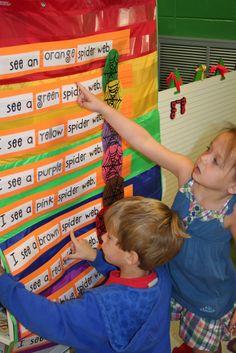 Mrs. Lee's Kindergarten: Spiders, Spiders, Spiders
