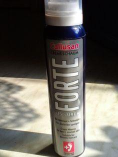 Hexes Produkttest und Sonstiges: Cremeschaum Callusan Forte