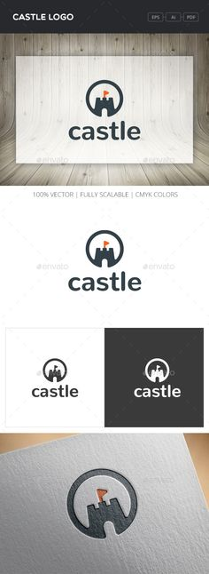 Castle Logo — Vector EPS #kingdom #flag • Available here → https://graphicriver.net/item/castle-logo/12108303?ref=pxcr
