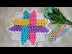 RENKLİ OKLAR LİF MODELİ & HOWTO MAKE KNİTTİNG #sibelleorgu #Tasarımlif - YouTube Crochet Dollies, Hand Applique, Meraki, Crochet Necklace, Crochet Patterns, Knitting, How To Make, Youtube, Crochet Stitches