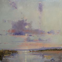 Gracious, this is beautiful. Everything about it appeals to me. The Royal Institute of Oil Painters - The ROI - Brian Ryder