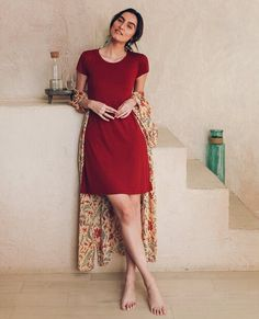 Tie Dress, Dress Up, Shades Of Maroon, Stylish Photo Pose, Long Kaftan, Reversible Dress, Chambray Dress, Date Outfits, Pretty Outfits