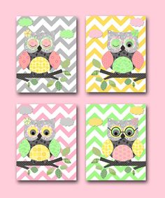 Hey, I found this really awesome Etsy listing at https://www.etsy.com/listing/153628950/owl-decor-owl-nursery-baby-girl-nursery