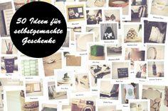 Fünfzig Ideen für selbstgemachte Geschenke!