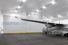 For military aircraft it is important that they are ready to operate at all times and in all circumstances. Champion Door military hangar doors are designed to be highly functional in all weather conditions. Jumbo Jet, Exterior Doors, Folded Up, Military Aircraft, Weather Conditions, Fighter Jets, Champion, Times, Design