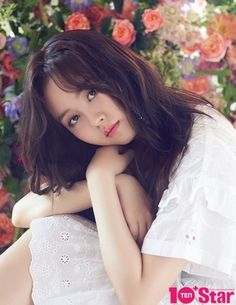 Now, this looks exactly like Kim So Hyun, SO PRETTY! She covers the September issue of 10 Plus Star, check it out! Child Actresses, Korean Actresses, Korean Actors, Actors & Actresses, Cute Korean, Korean Girl, Sweet Girls, Cute Girls, Girls 4