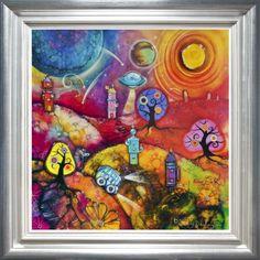 Space Travel - Kerry Darlington (Unique Limited Edition Resin) - £499.00 - Kerry Darlington - Prints & Artwork