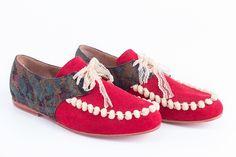 zapato pompon www.ceciliafurlan.com