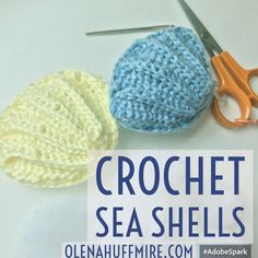 How to Crochet a SeaShell – Amigurumi // DOWNLOAD MY FREE SEA SHELL CROCHET PATTERN See my video tutorial here Have you ever looked for a toy you wanted to make but didn't see anything worth…