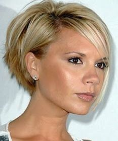 Simple Messy Hairstyles pixie hairstyles for wedding.Women Hairstyles For Fine Hair Long. Concave Bob Hairstyles, Prom Hairstyles For Short Hair, Short Bob Haircuts, Pixie Hairstyles, Stacked Hairstyles, Hairstyles 2018, Brunette Hairstyles, Asymmetrical Hairstyles, Fringe Hairstyles