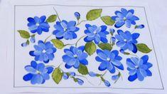 Pintura em tela - Iniciantes - Aula 3 - Flores espontâneas