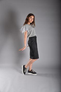 JOKARI Jersey with KRASH Pencil Skirt