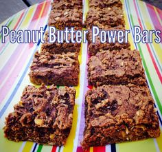 Peanut Butter Power Bars from the Tone It Up Nutrition Plan Frisky Fall Edition. Shared by tiucoleytow.