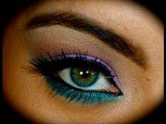 MakeUp colorido para realzar ojos castaños por Fran AQ