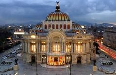 """The Palacio de Bellas Artes is a prominent cultural center in Mexico City. It has hosted some of the most notable events in music, dance, theatre, opera and literature and has held important exhibitions of painting, sculpture and photography. Consequently, the Palacio de Bellas Artes has been called the """"Cathedral of Art in Mexico"""". The building is located on the western side of the historic center of Mexico City next to the Alameda Central park."""