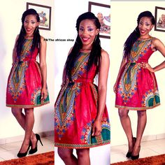 Dashiki boom  Dress 3 by THEAFRICANSHOP on Etsy, £55.00