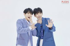 Joshua and Soonyoung Seventeen Wonwoo, Seventeen Debut, Woozi, Jeonghan, Hip Hop, Photoshoot Bts, Won Woo, Seventeen Wallpapers, Pledis Entertainment