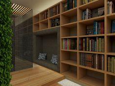 Projeto Spa / Biblioteca por Tripper Arquitetura www.tripperarquitetura.com.br