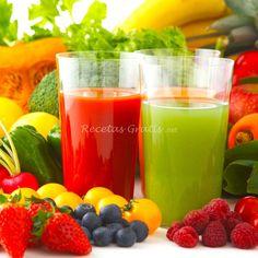 Cómo hacer jugos de verduras
