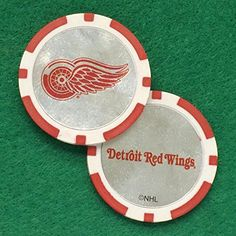 CaddyPro 2013 Detroit Red Wings Poker Chip Golf Ball Marker >>> You can find more details by visiting the image link.