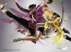 Puma ad campaign. Get your #PUMA #Shoes @designerstudiostore.com: http://www.designerstudiostore.com/brands-off/puma-1.html