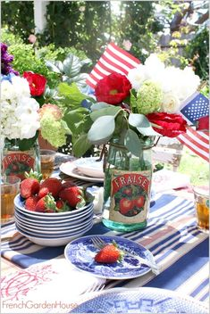 A Star Spangled Day – Floral Friday