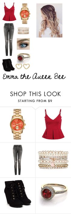 """Emma the Queen Bee- Hi My Name is Collection"" by abschaffer ❤ liked on Polyvore featuring Citizens of Humanity, Accessorize, Marc by Marc Jacobs, women's clothing, women's fashion, women, female, woman, misses and juniors"