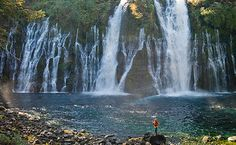 Burney Falls - Stand in the Thunder of a Waterfall - http://www.visitcalifornia.com/region/discover-shasta-cascade